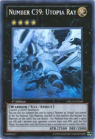 Number C39: Utopia Ray - Ghost Rare - ORCS-EN040
