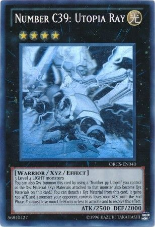 Number C39: Utopia Ray - Ghost Rare Unlimited - ORCS-EN040