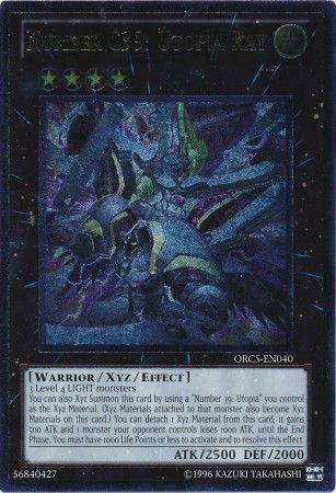 Number C39: Utopia Ray - Ultimate Rare Unlimited - ORCS-EN040