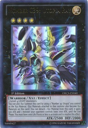 Number C39: Utopia Ray - Ultra Rare - ORCS-EN040