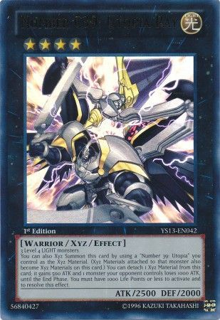 Number C39: Utopia Ray - Ultra Rare - YS13-EN042