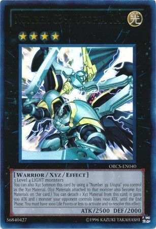 Number C39: Utopia Ray - Ultra Rare Unlimited - ORCS-EN040