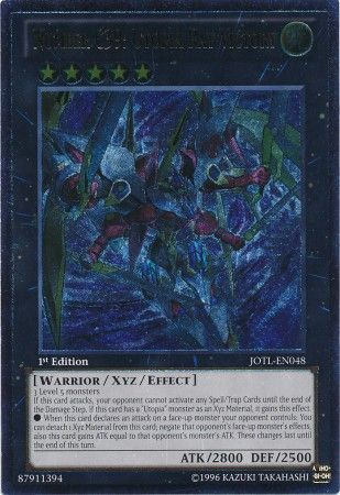 Number C39: Utopia Ray Victory - Ultimate Rare - JOTL-EN048