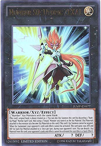 Number S0: Utopic ZEXAL - Ultra Rare - JUMP-EN077
