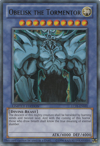 Obelisk the Tormentor - Ultra Rare - LC01-EN001