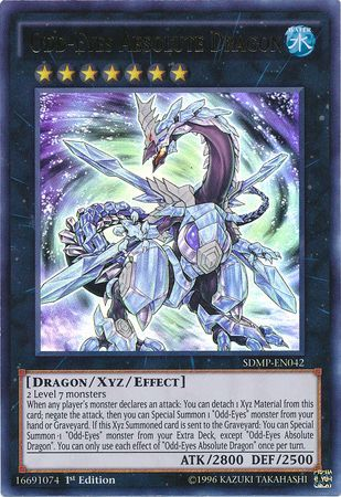 Odd-Eyes Absolute Dragon - Ultra Rare - SDMP-EN042