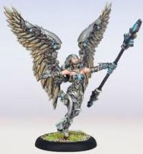 Warmachine - Convergence of Cyriss - Aurora, Numen of Aerogenesis - PIP 36001 Privateer Press | Cardboard Memories Inc.