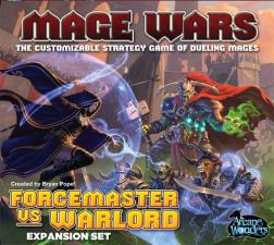 Mage Wars - Forcemaster vs. Warlord Arcane Wonders | Cardboard Memories Inc.