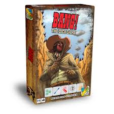 Bang! The Dice Game Davinci Games | Cardboard Memories Inc.