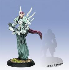 Warmachine - Retribution of Scyrah - Issyria, Sibyl of Dawn Warcaster - PIP 35038 Privateer Press | Cardboard Memories Inc.