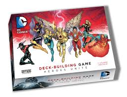 DC Comics Deck-Building Game - Heroes Unite Cryptozoic | Cardboard Memories Inc.