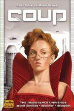 Coup - The Resistance Universe Indie Board and Cards | Cardboard Memories Inc.