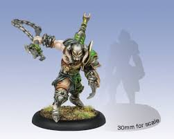 Warmachine - Cryx Aiakos, Scourge of the Meredius Character Solo PIP 34108 Privateer Press | Cardboard Memories Inc.
