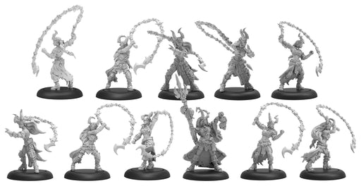 Warmachine - Cryx - Satyxis Raiders & Sea Witch Unit with Command Attachment - PIP 34142 Privateer Press | Cardboard Memories Inc.