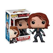 POP! Avengers Age Of Ultron - Black Widow Funko | Cardboard Memories Inc.