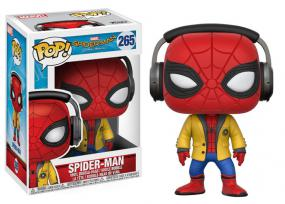 POP! Spider-Man Homecoming - Spider-Man with Headphones Funko | Cardboard Memories Inc.
