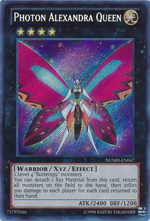 Photon Alexandra Queen - Secret Rare Unlimited - NUMH-EN047