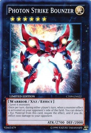 Photon Strike Bounzer - Super Rare - CT09-EN022