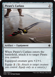 Pirate's Cutlass - Common - XLN242 Wizards of the Coast | Cardboard Memories Inc.