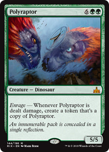 Polyraptor - Mythic - RIX144 Wizards of the Coast | Cardboard Memories Inc.