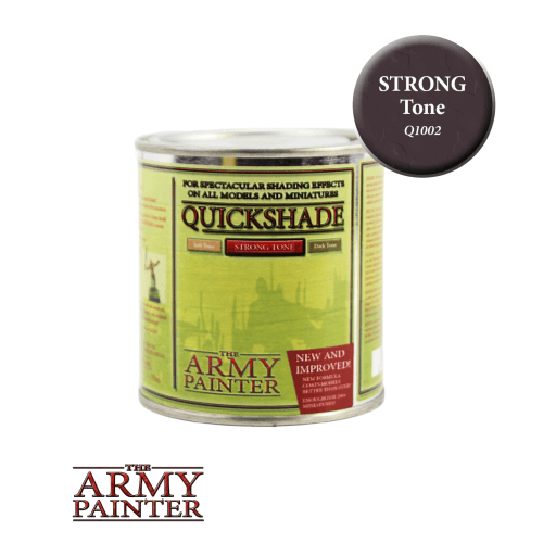 Army Painter Quickshade - Strong Tone The Army Painter | Cardboard Memories Inc.
