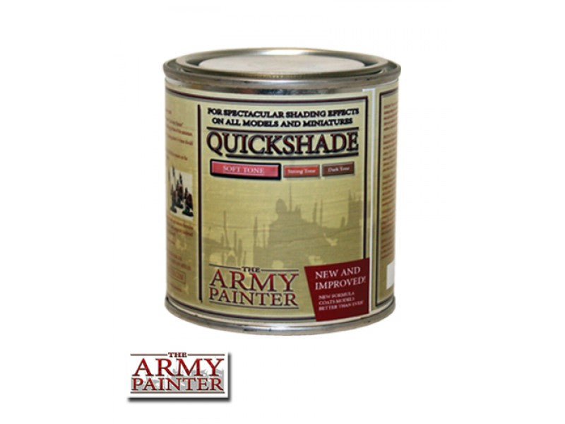 Army Painter Quickshade - Soft Tone The Army Painter | Cardboard Memories Inc.