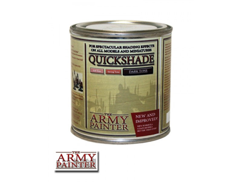 Army Painter Quickshade - Dark Tone The Army Painter | Cardboard Memories Inc.