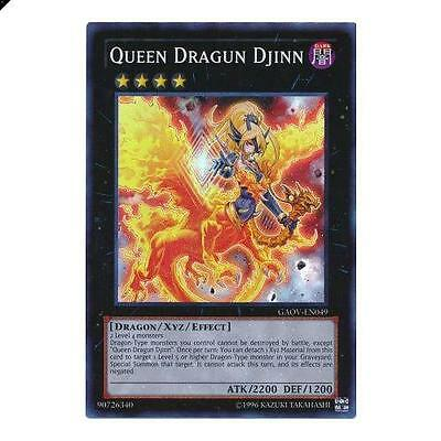 Queen Dragon Djinn - Super Rare Unlimited - GAOV-EN049