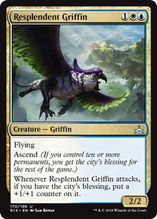 Resplendent Griffin - Uncommon - RIX170 Wizards of the Coast | Cardboard Memories Inc.