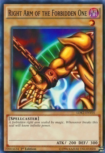 Right Arm of the Forbidden One - Common - LDK2-ENY05