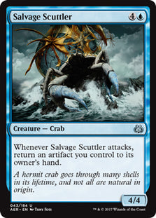 Salvage Scuttler - Uncommon  AER043 Wizards Of the Coast | Cardboard Memories Inc.