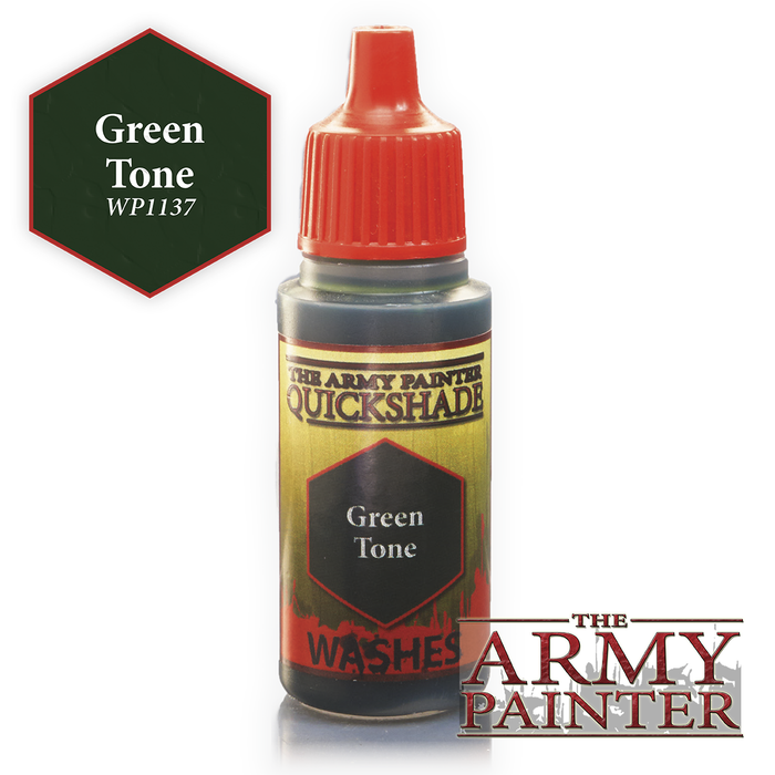Army Painter Warpaints - Green Tone WP1137 The Army Painter | Cardboard Memories Inc.