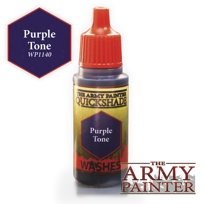 Army Painter Warpaints - Purple Tone WP1140 The Army Painter | Cardboard Memories Inc.