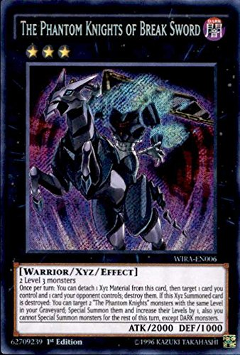 The Phantom Knights Of Break Sword - Secret Rare - WIRA-EN006