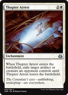Thopter Arrest - Uncommon  AER025 Wizards of the Coast | Cardboard Memories Inc.
