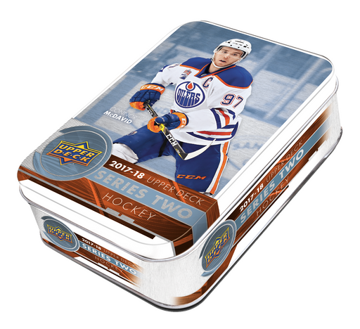 2017-18 Upper Deck Series 2 Hockey Tin Upper Deck | Cardboard Memories Inc.