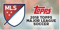 Topps Major League Soccer 2018 (Pre-Order) May 23rd 2018 Topps | Cardboard Memories Inc.