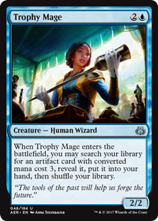 Trophy Mage - Uncommon  AER048 Wizards Of the Coast | Cardboard Memories Inc.