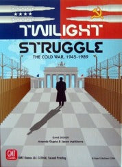 Twilight Struggle - The Cold War, 1945-1989 GMT Games | Cardboard Memories Inc.