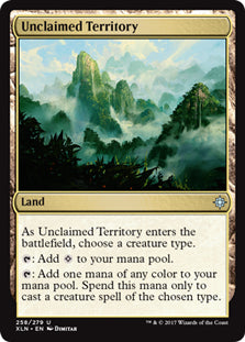 Unclaimed Territory - Uncommon - XLN258 Wizards of the Coast | Cardboard Memories Inc.