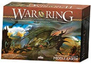 LOTR War of the Ring Core Board Game 2nd Edition Ares Games | Cardboard Memories Inc.