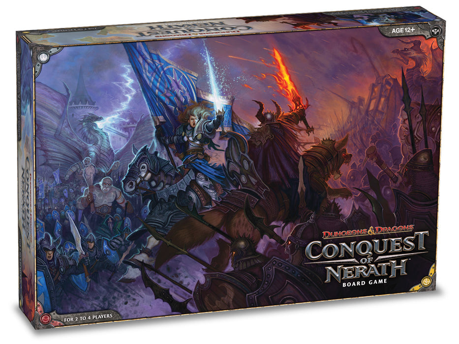 Dungeons & Dragons - Conquest of Nerath Wizards of the Coast | Cardboard Memories Inc.