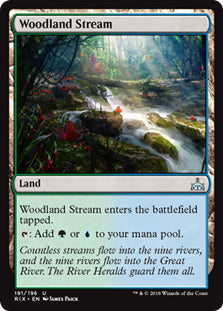 Woodland Stream - Uncommon - RIX191 Wizards of the Coast | Cardboard Memories Inc.