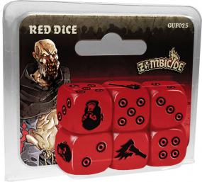 Zombicide - Red Dice Cool Mini or Not | Cardboard Memories Inc.