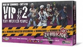 Zombicide Box of Zombies #10 - VIP #2 Very Infected People Cool Mini or Not | Cardboard Memories Inc.