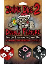 Zombie Dice 2 - Double Feature Steve Jackson Games | Cardboard Memories Inc.