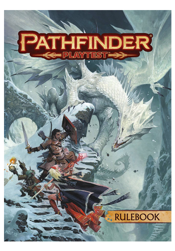 Pathfinder 2E Playtest - Rulebook (Softcover)