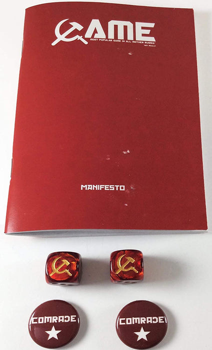 Hunters Books and Apparel- Manifesto Game: Most Popular Game in All Mother Russia *Not Really