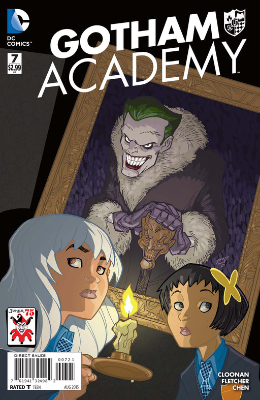 DC Comics - Gotham Academy 07- The Joker 75 Variant- 2357