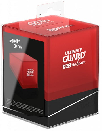 Ultimate Guard - Boulder Deck Case - Black and Red - 2020 Exclusive - 100